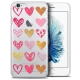 Coque Crystal iPhone 6/6s Extra Fine Sweetie - Doodling Hearts