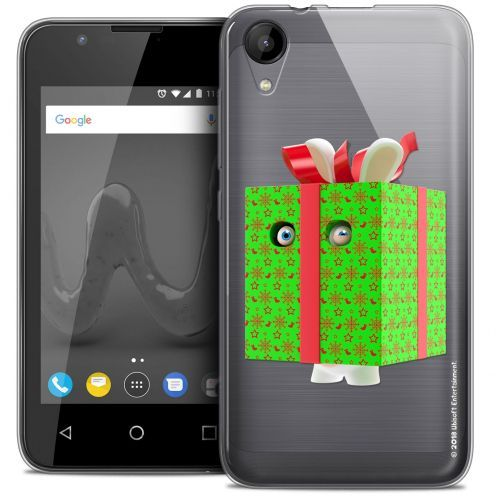 """Coque Wiko Sunny 2 Gel (4"""") Extra Fine Lapins Crétins™ - Lapin Surprise Vert"""