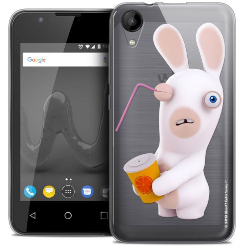 "Coque Wiko Sunny 2 Gel (4"") Extra Fine Lapins Crétins™ - Soda Crétin"
