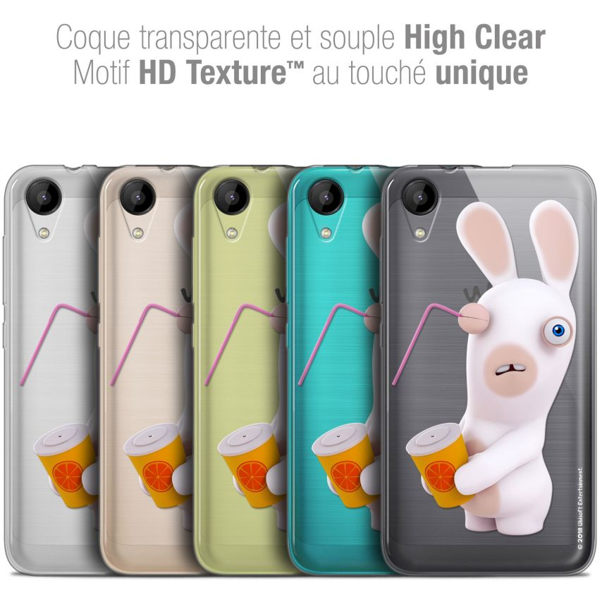 """Coque Wiko Sunny 2 Gel (4"""") Extra Fine Lapins Crétins™ - Soda Crétin"""