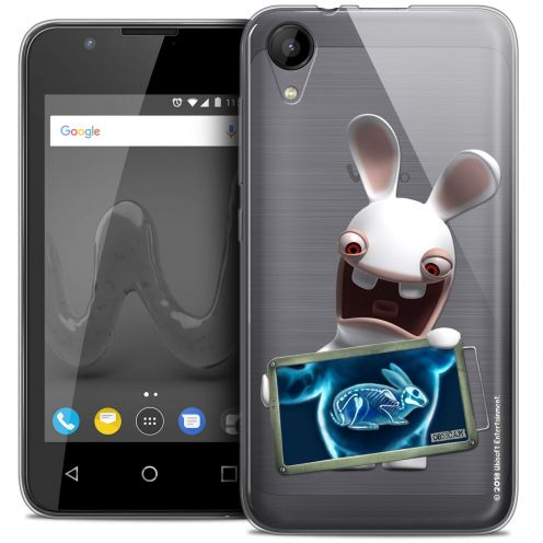 """Coque Wiko Sunny 2 Gel (4"""") Extra Fine Lapins Crétins™ - X Ray Crétin"""