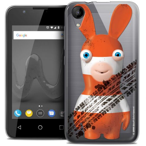 """Coque Wiko Sunny 2 Gel (4"""") Extra Fine Lapins Crétins™ - On the Road"""