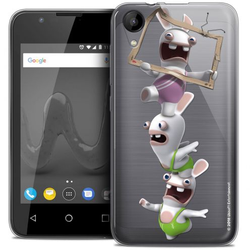 """Coque Wiko Sunny 2 Gel (4"""") Extra Fine Lapins Crétins™ - TV Sport"""