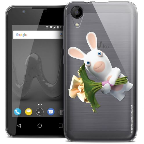"""Coque Wiko Sunny 2 Gel (4"""") Extra Fine Lapins Crétins™ - Bouquet Crétin"""