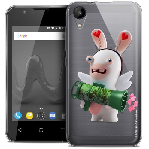 """Coque Wiko Sunny 2 Gel (4"""") Extra Fine Lapins Crétins™ - Cupidon Soldat"""