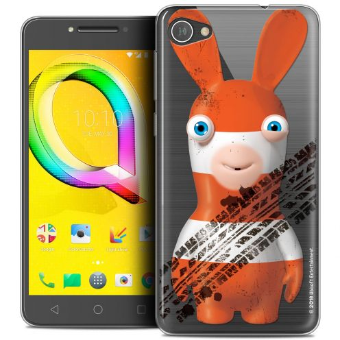 "Coque Gel Alcatel A5 LED (5.2"") Extra Fine Lapins Crétins™ - On the Road"