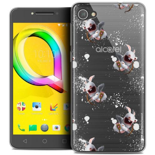 "Coque Gel Alcatel A5 LED (5.2"") Extra Fine Lapins Crétins™ - Cupidon Pattern"