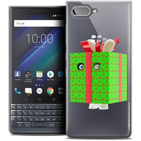 "Coque Gel BlackBerry Key2 LE (4.5"") Extra Fine Lapins Crétins™ - Lapin Surprise Vert"
