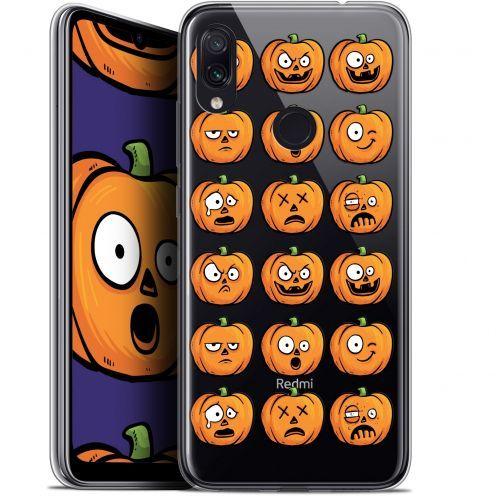 "Coque Gel Xiaomi Redmi Note 7 (6.3"") Extra Fine Halloween - Cartoon Citrouille"