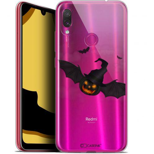 "Coque Gel Xiaomi Redmi Note 7 (6.3"") Extra Fine Halloween - Chauve Citrouille"