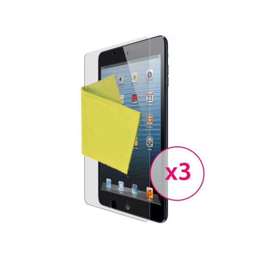 Zoom sur Films de protection iPad mini Clubcase ® HQ Lot de 3