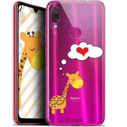 "Coque Gel Xiaomi Redmi Note 7 (6.3"") Extra Fine Love - Girafe Amoureuse"