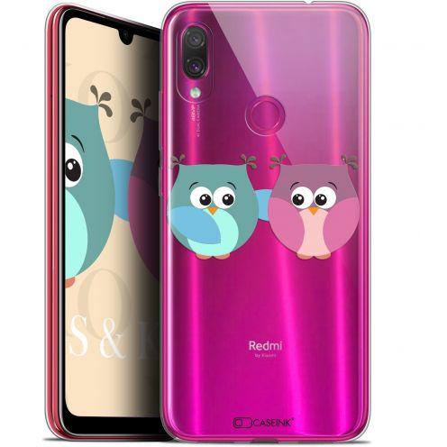 """Coque Gel Xiaomi Redmi Note 7 (6.3"""") Extra Fine Love - Hibous à deux"""