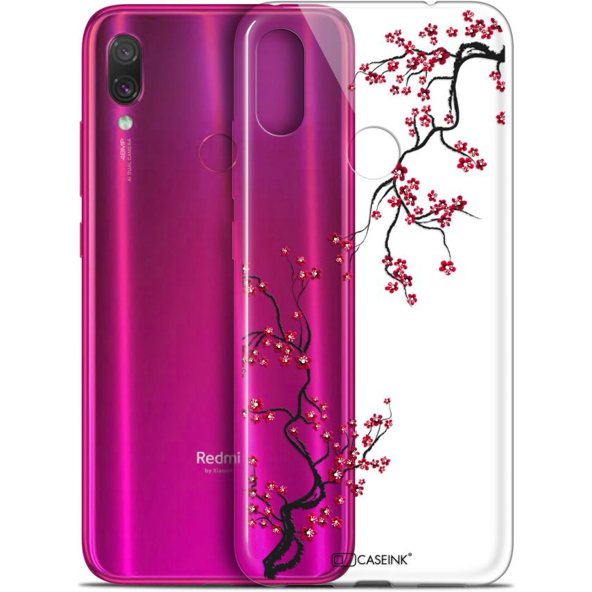 "Coque Gel Xiaomi Redmi Note 7 (6.3"") Extra Fine Summer - Sakura"