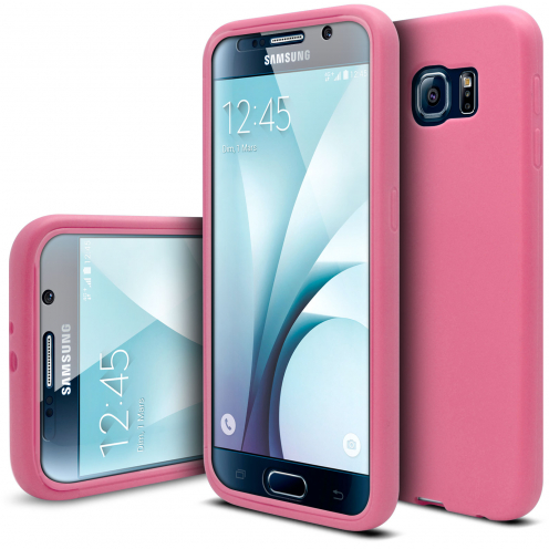 Coque Samsung Galaxy S6 Antichoc 360 Ultimate Touch Gel Rose