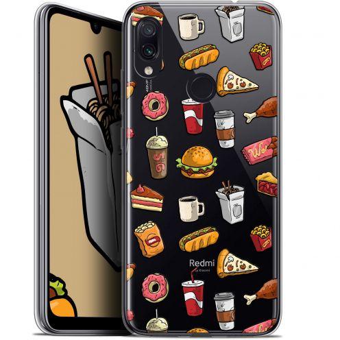 "Coque Gel Xiaomi Redmi Note 7 (6.3"") Extra Fine Foodie - Fast Food"