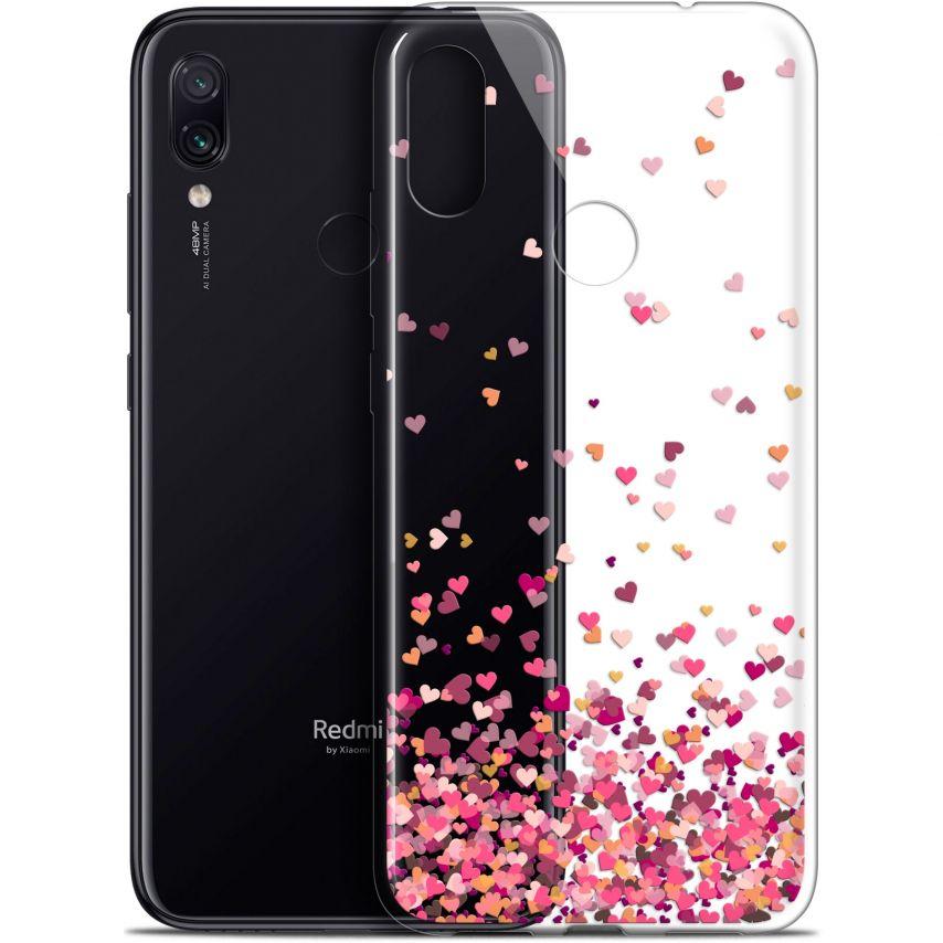 "Coque Gel Xiaomi Redmi Note 7 (6.3"") Extra Fine Sweetie - Heart Flakes"
