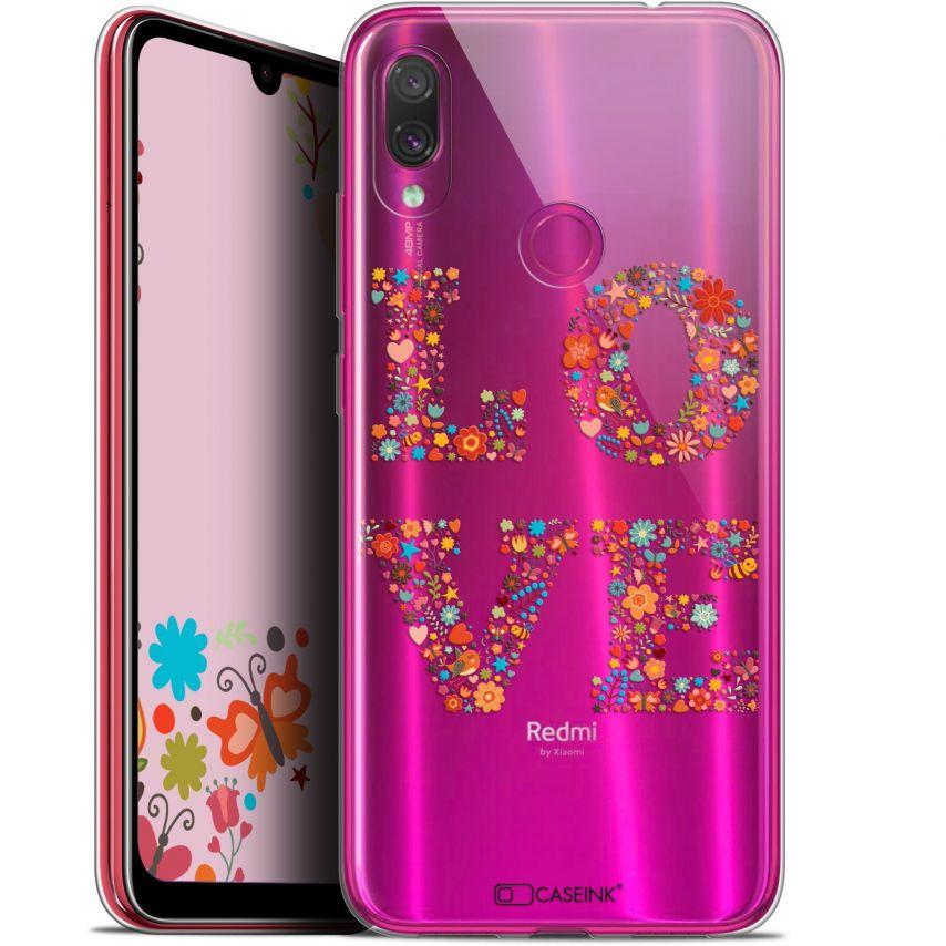 """Coque Gel Xiaomi Redmi Note 7 (6.3"""") Extra Fine Summer - Love Flowers"""