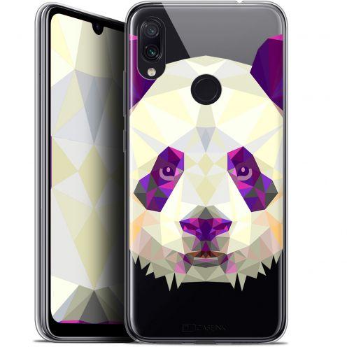 """Coque Gel Xiaomi Redmi Note 7 (6.3"""") Extra Fine Polygon Animals - Panda"""