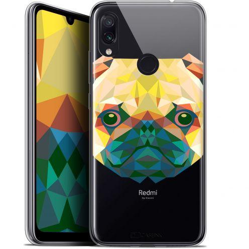 "Coque Gel Xiaomi Redmi Note 7 (6.3"") Extra Fine Polygon Animals - Chien"