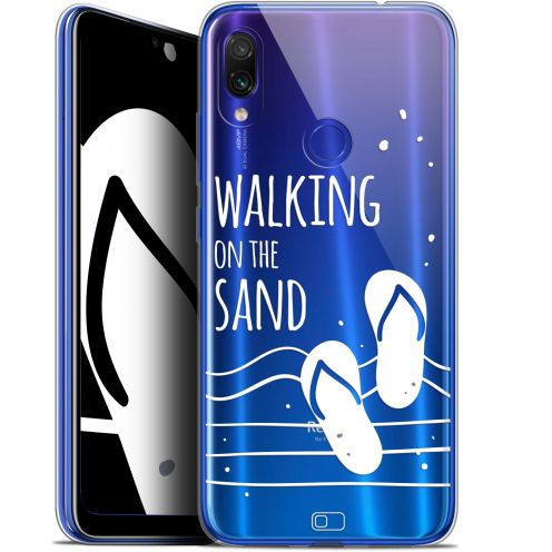 "Coque Gel Xiaomi Redmi Note 7 (6.3"") Extra Fine Summer - Walking on the Sand"