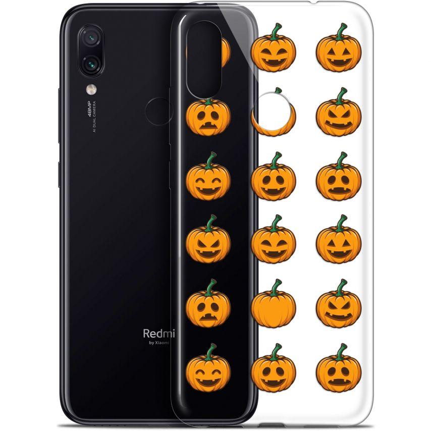 "Coque Gel Xiaomi Redmi Note 7 (6.3"") Extra Fine Halloween - Smiley Citrouille"