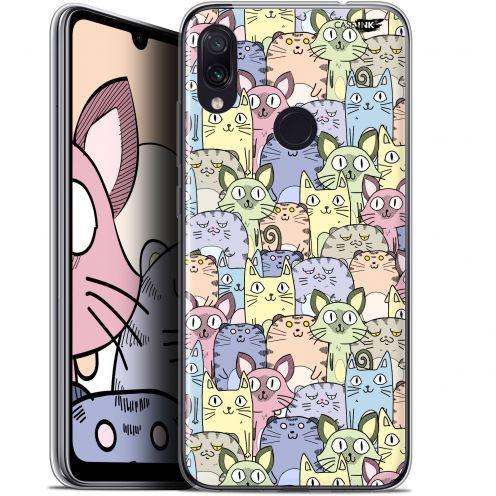 "Coque Gel Xiaomi Redmi Note 7 (6.3"") Extra Fine Motif - Foule de Chats"