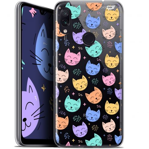 "Coque Gel Xiaomi Redmi Note 7 (6.3"") Extra Fine Motif - Chat Dormant"