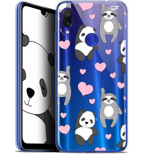 "Coque Gel Xiaomi Redmi Note 7 (6.3"") Extra Fine Motif -  Panda'mour"