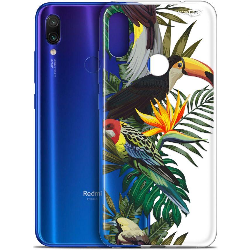 "Coque Gel Xiaomi Redmi Note 7 (6.3"") Extra Fine Motif - Toucan Tropical"