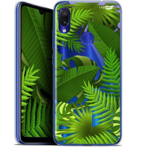 "Coque Gel Xiaomi Redmi Note 7 (6.3"") Extra Fine Motif -  Plantes des Tropiques"