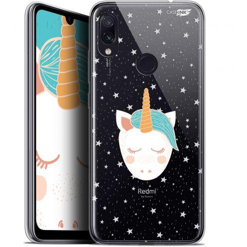 "Coque Gel Xiaomi Redmi Note 7 (6.3"") Extra Fine Motif -  Licorne Dors"
