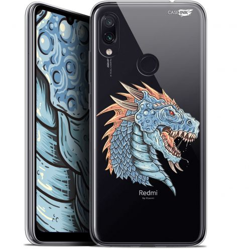 "Coque Gel Xiaomi Redmi Note 7 (6.3"") Extra Fine Motif -  Dragon Draw"