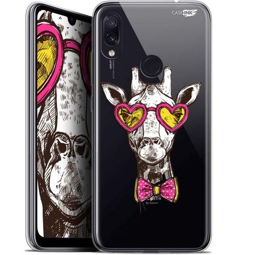 "Coque Gel Xiaomi Redmi Note 7 (6.3"") Extra Fine Motif -  Hipster Giraffe"