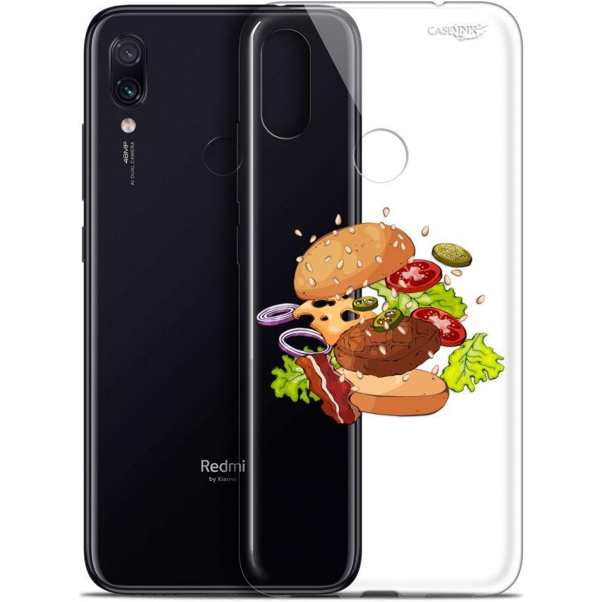 "Coque Gel Xiaomi Redmi Note 7 (6.3"") Extra Fine Motif - Splash Burger"
