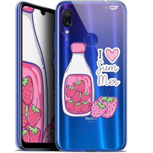 "Coque Gel Xiaomi Redmi Note 7 (6.3"") Extra Fine Motif -  Milky Summer"