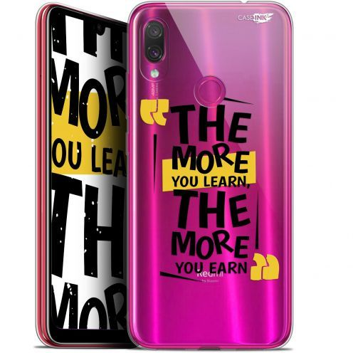 "Coque Gel Xiaomi Redmi Note 7 (6.3"") Extra Fine Motif -  The More You Learn"