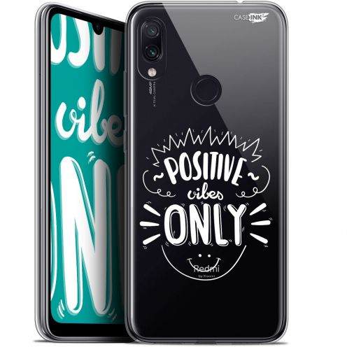 """Coque Gel Xiaomi Redmi Note 7 (6.3"""") Extra Fine Motif -  Positive Vibes Only"""