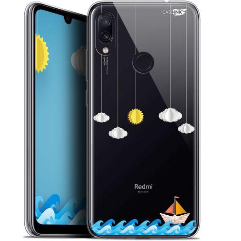 "Coque Gel Xiaomi Redmi Note 7 (6.3"") Extra Fine Motif -  Petit Bateau en Mer"