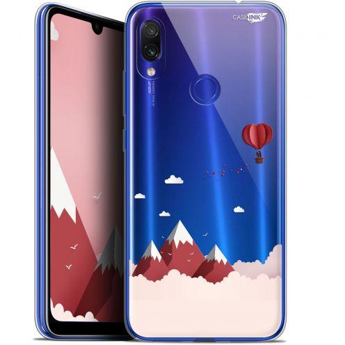 "Coque Gel Xiaomi Redmi Note 7 (6.3"") Extra Fine Motif -  Montagne En Montgolfière"