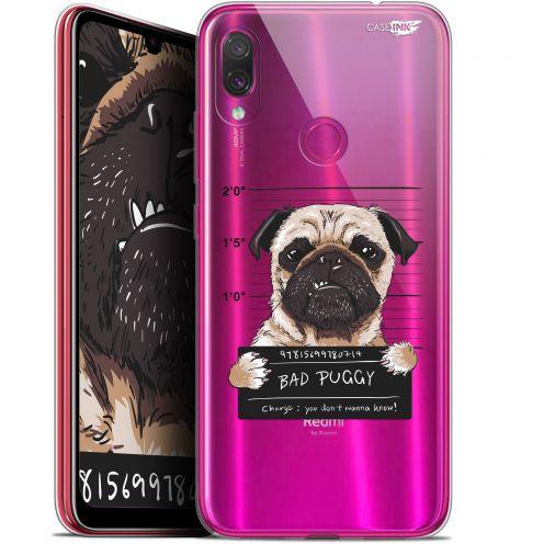 "Coque Gel Xiaomi Redmi Note 7 (6.3"") Extra Fine Motif -  Beware The Puggy Dog"