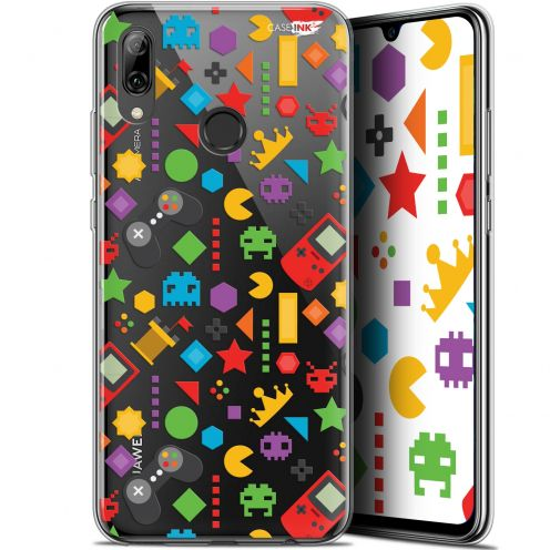 "Coque Crystal Gel Huawei P Smart 2019 (6.21"") Extra Fine Motif - PacMan"