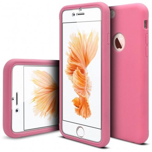 Coque Apple iPhone 6/6s Antichoc 360 Ultimate Touch Gel Rose