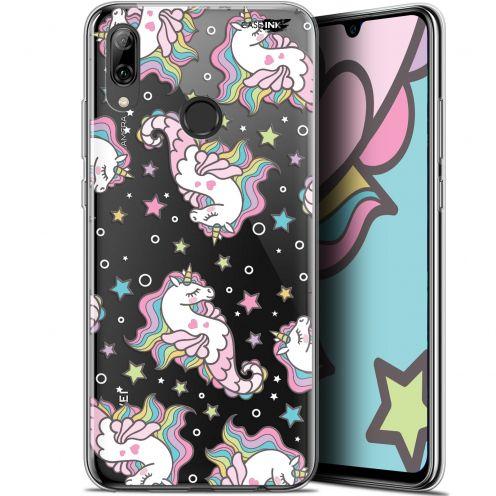 "Coque Crystal Gel Huawei P Smart 2019 (6.21"") Extra Fine Motif - Licorne Dormante"