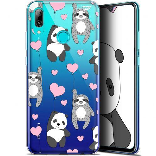 "Coque Crystal Gel Huawei P Smart 2019 (6.21"") Extra Fine Motif - Panda'mour"