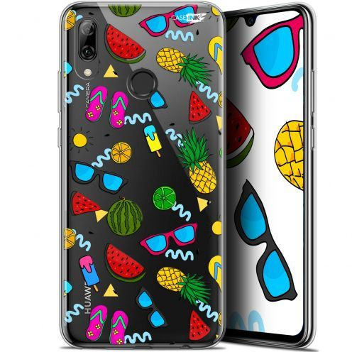 "Coque Crystal Gel Huawei P Smart 2019 (6.21"") Extra Fine Motif - Summers"