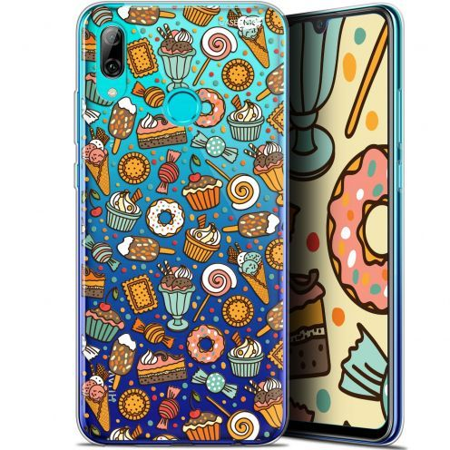 "Coque Crystal Gel Huawei P Smart 2019 (6.21"") Extra Fine Motif - Bonbons"