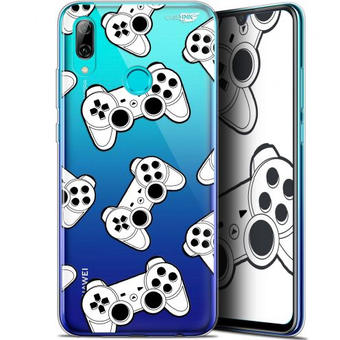 "Coque Crystal Gel Huawei P Smart 2019 (6.21"") Extra Fine Motif - Game Play Joysticks"