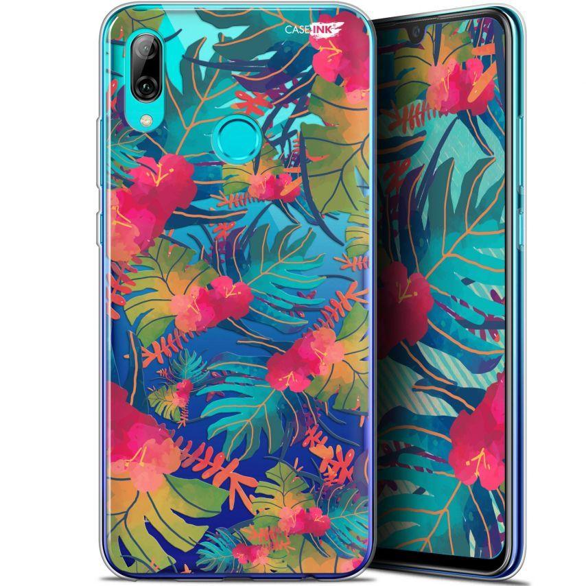 """Coque Crystal Gel Huawei P Smart 2019 (6.21"""") Extra Fine Motif - Couleurs des Tropiques"""