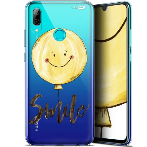 """Coque Crystal Gel Huawei P Smart 2019 (6.21"""") Extra Fine Motif -  Smile Baloon"""